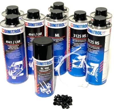 DINITROL RUST PROOFING KIT 2  - Rustbuster