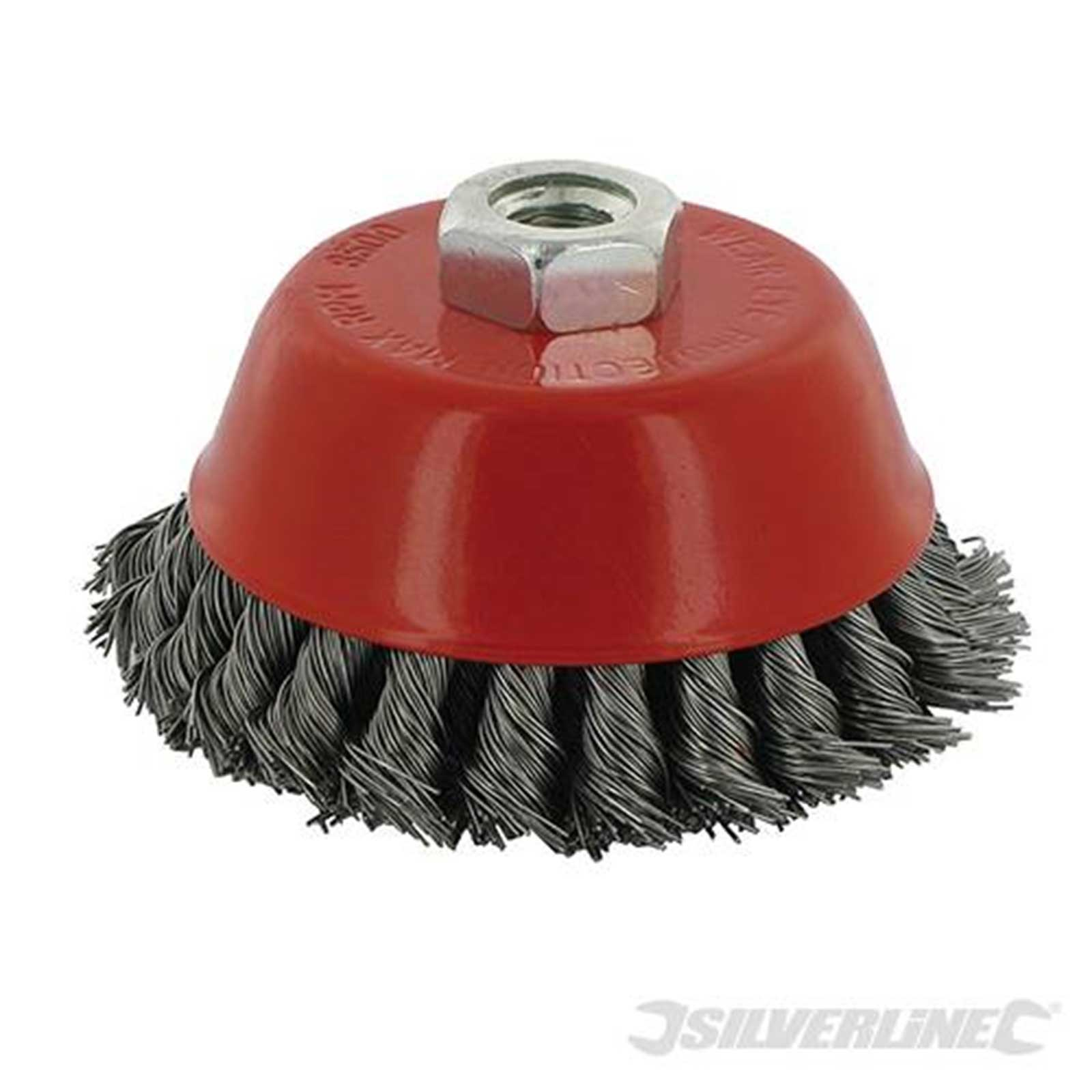 TWIST KNOT BOWL CUP BRUSH WHEELS FOR GRINDER OR DRILL - Rustbuster