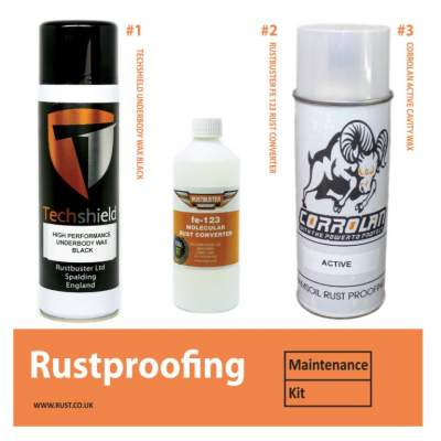 RUSTBUSTER RUST PROOFING MAINTENANCE KIT  - Rustbuster