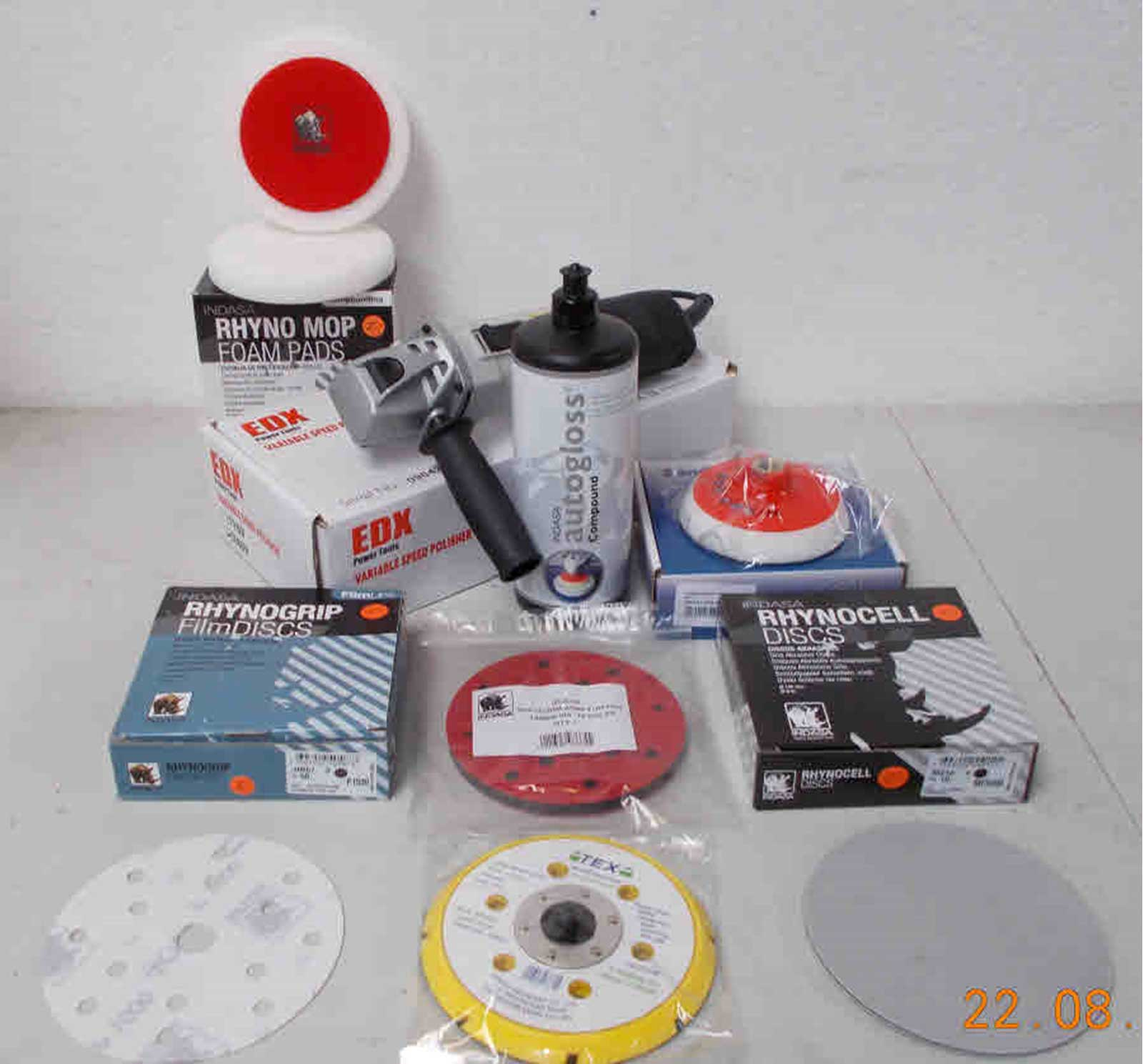 PAINT DEFECT REMOVING AND POLISHING VALUE PACK - Rustbuster