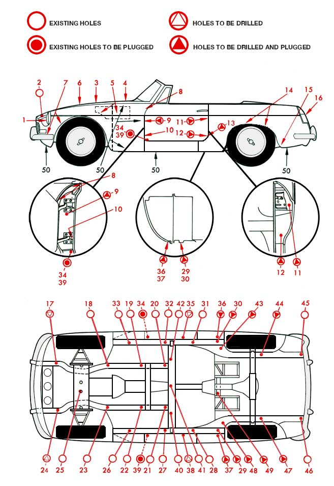 MGB GT Injection diagram