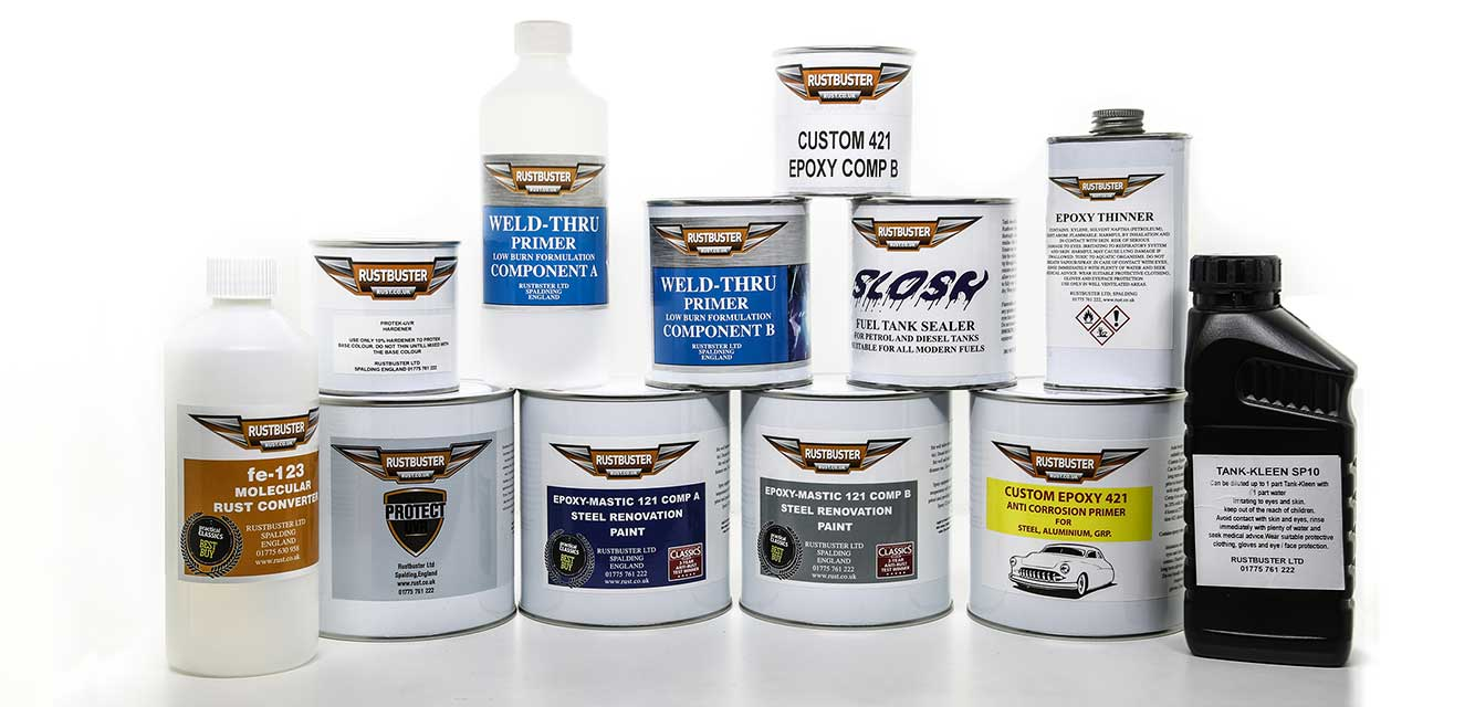 Rust Remover, Prevention Treatments, Rust Proofing Cars