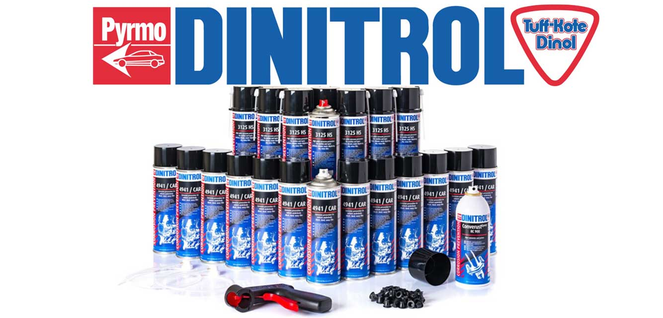 Dinitrol Advanced Repair and Protection Solutions by Rusterbuster