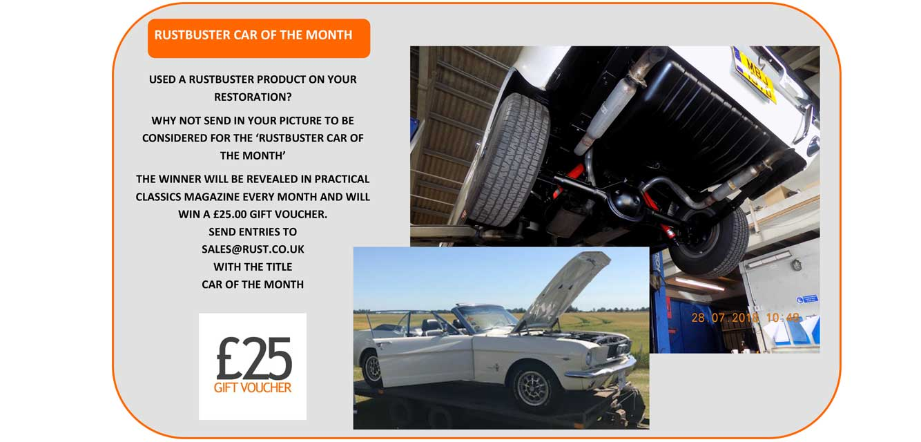 Rust Remover & Prevention Treatments, Rust Proofing Cars