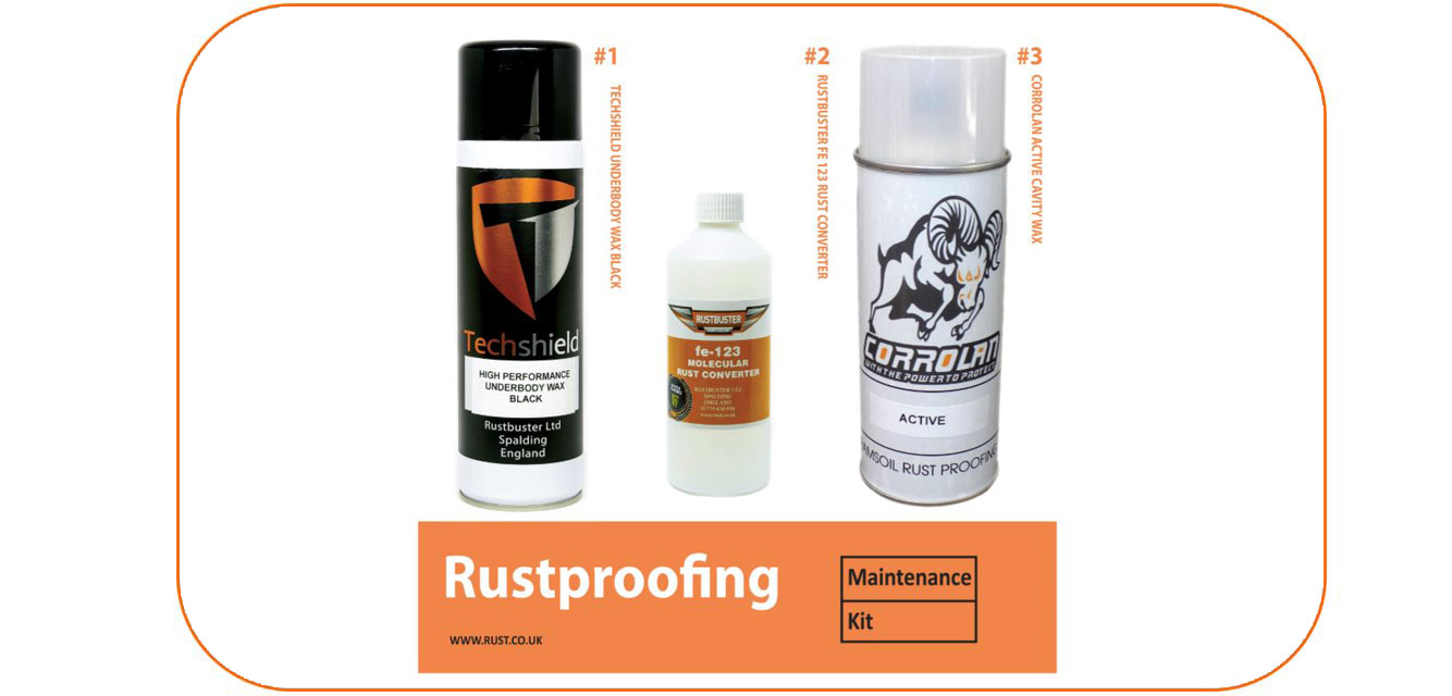 Rustbuster Rust Proofing Maintenance Kit